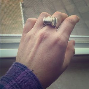 Thick Sterling Vintage Ring